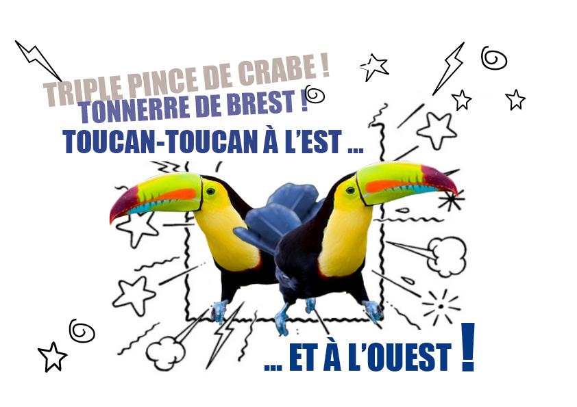 T•T toucans bulle BD