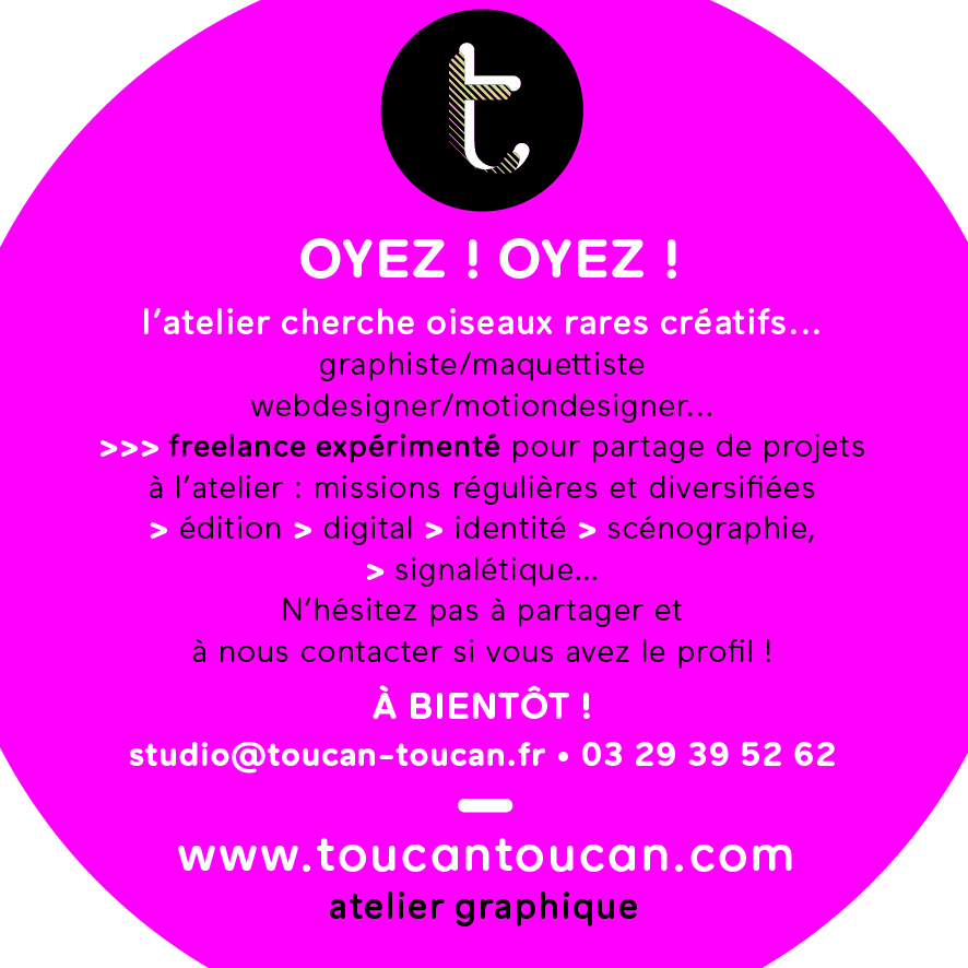 T•T ANNONCE FB Freelance 07-18
